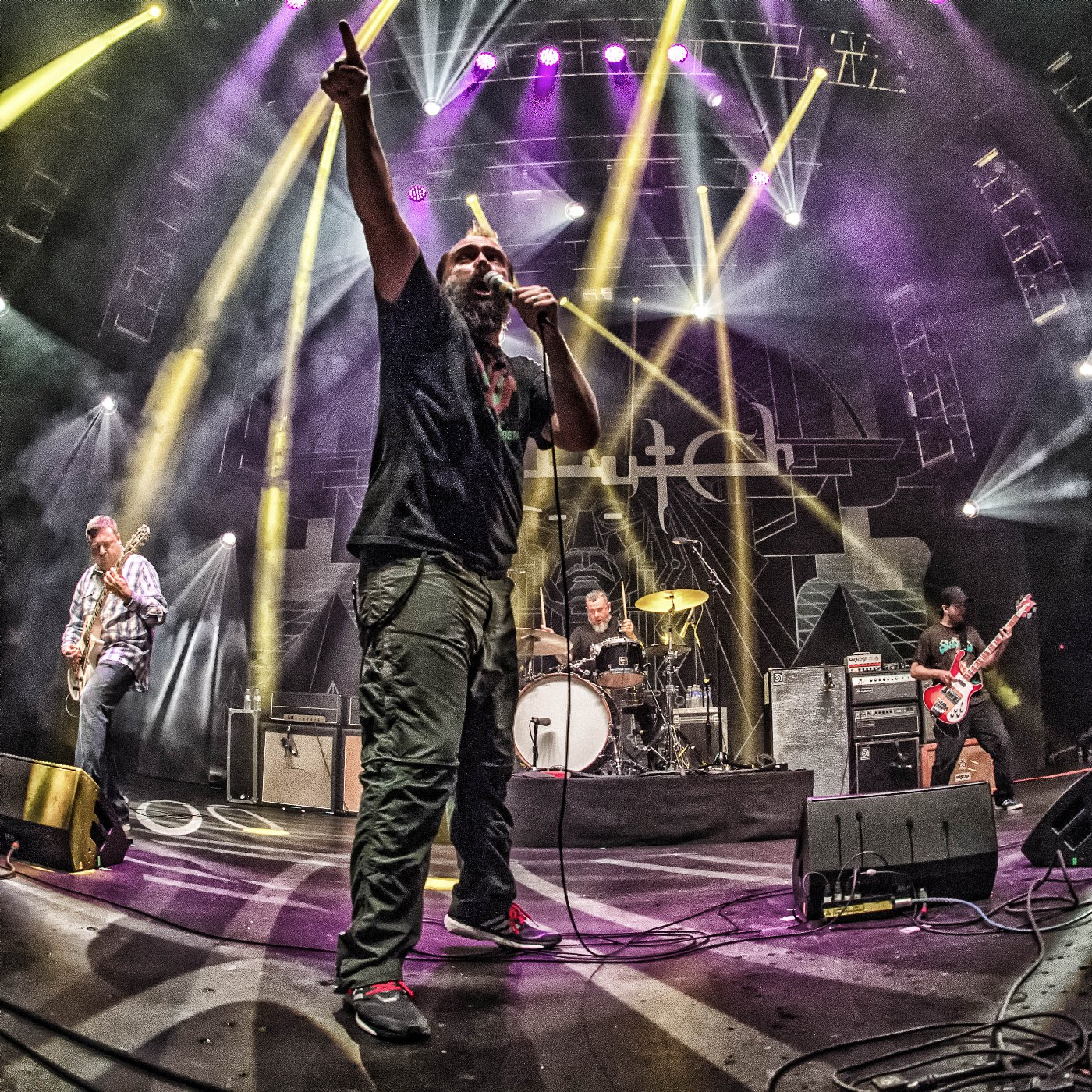 CLUTCH, live photo 2014, credit Marc Millman